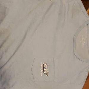 Light blue vineyard vine shirt